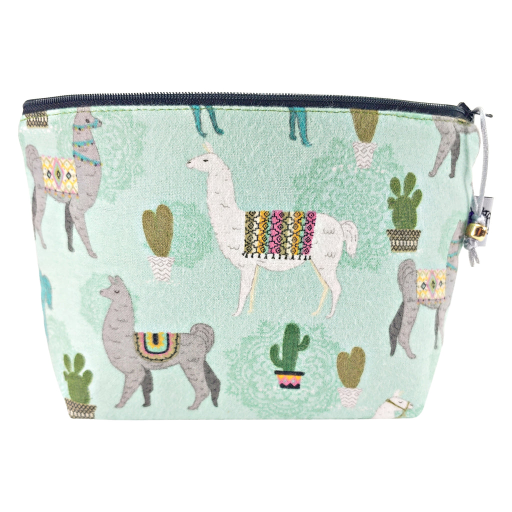 Mandala Llama (Flannel) </br> Zipper Notion Pouch
