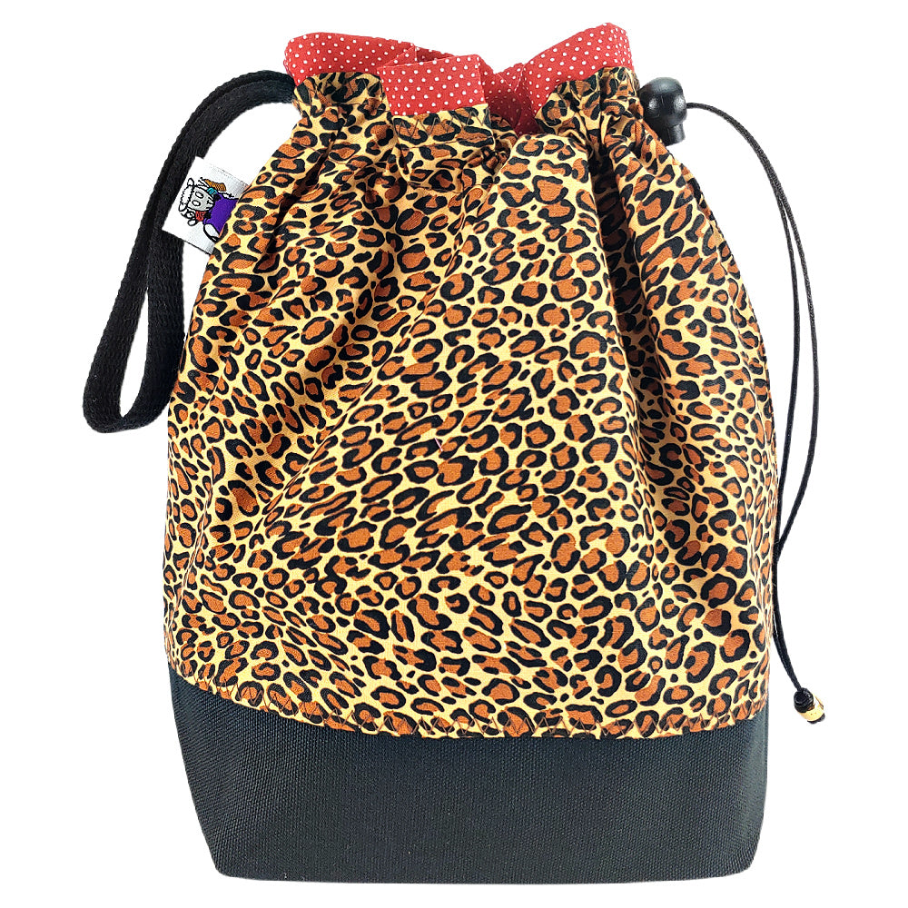 Classic Leopard </br> Medium Project Bag
