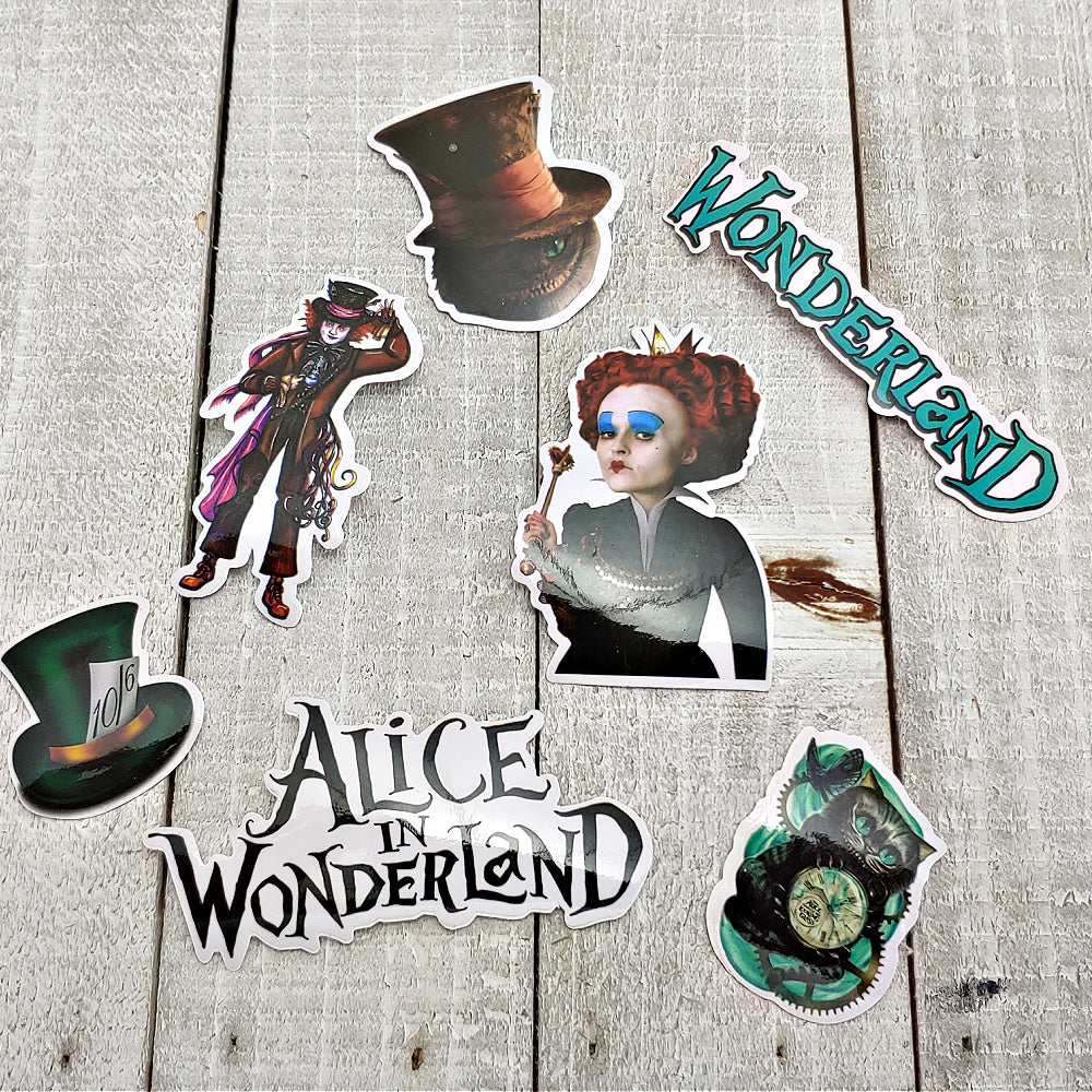 Alice 2 - Set of 7 Stickers