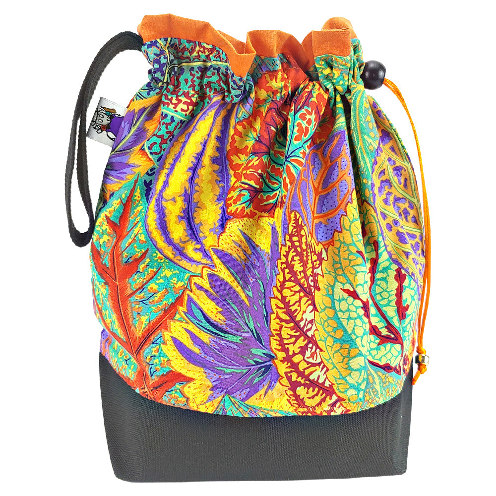 Sunset Coleus </br> Medium Project Bag