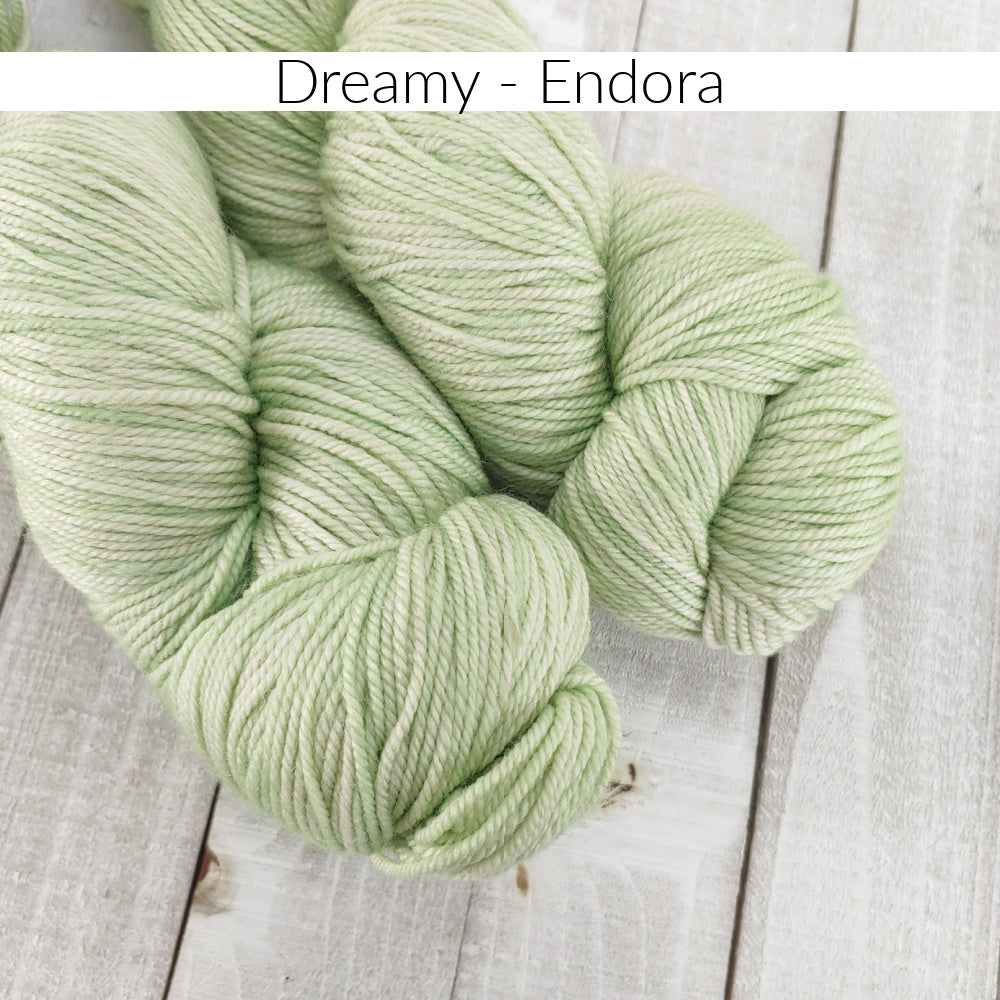 Dreamy Fingering - Endora - Anzula Luxury Fibers