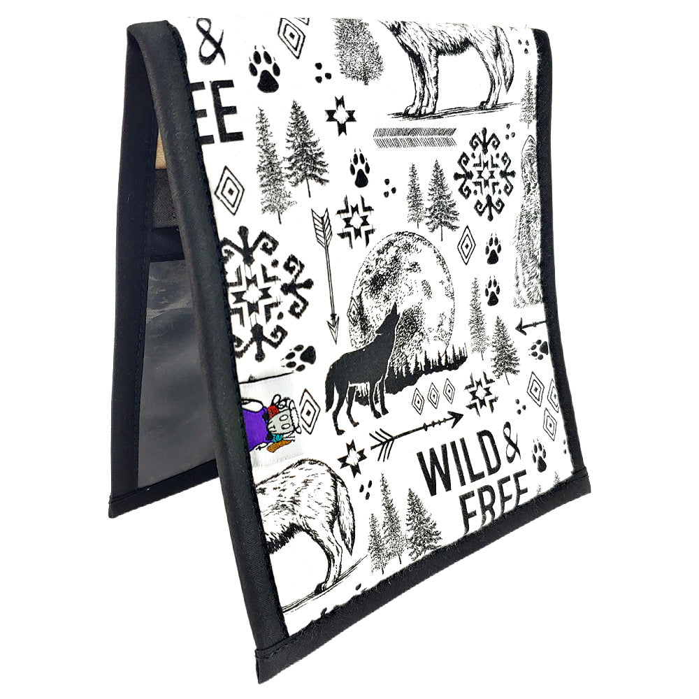 Wild & Free (flannel) </br> Needle & Hook Organizer