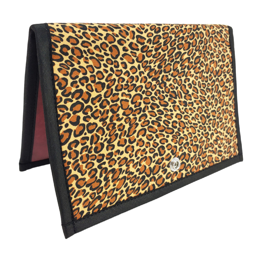 Classic Leopard </br> Pattern Holder & Stand </br> Knit & Crochet Pattern Organizer