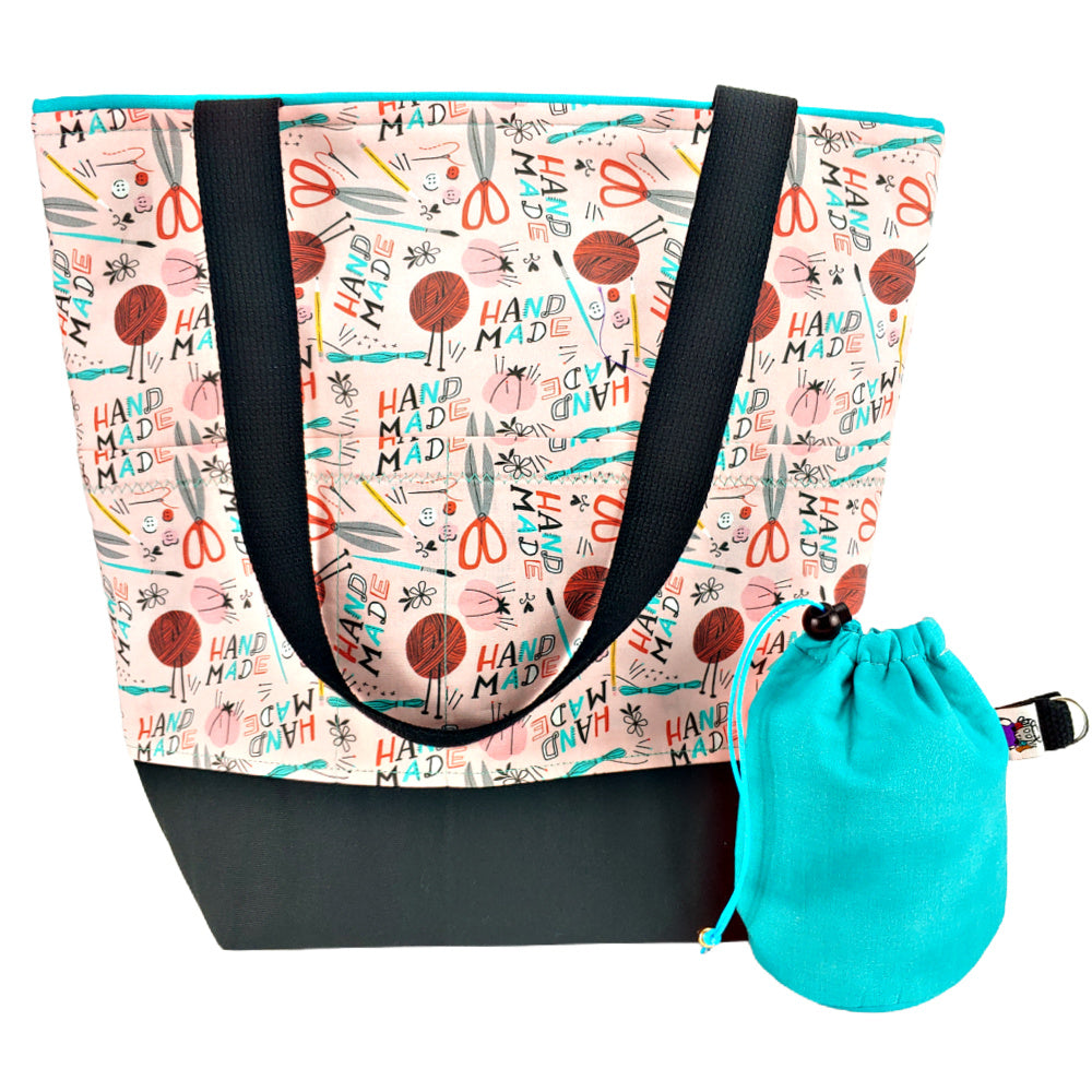 Handmade (Clean Option) </br> XL Project Bag </br> Studio Tote & Tot