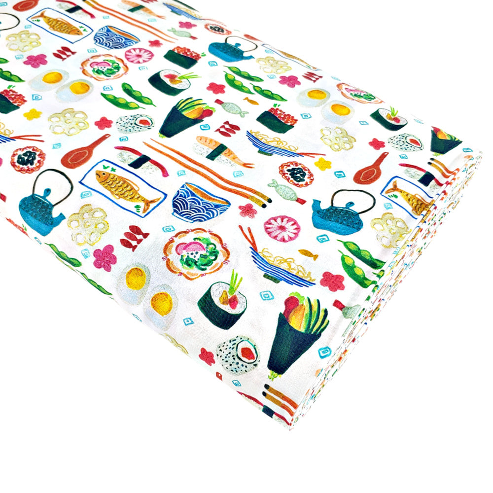 Sushi </br> Designer Fabric - By the Yard