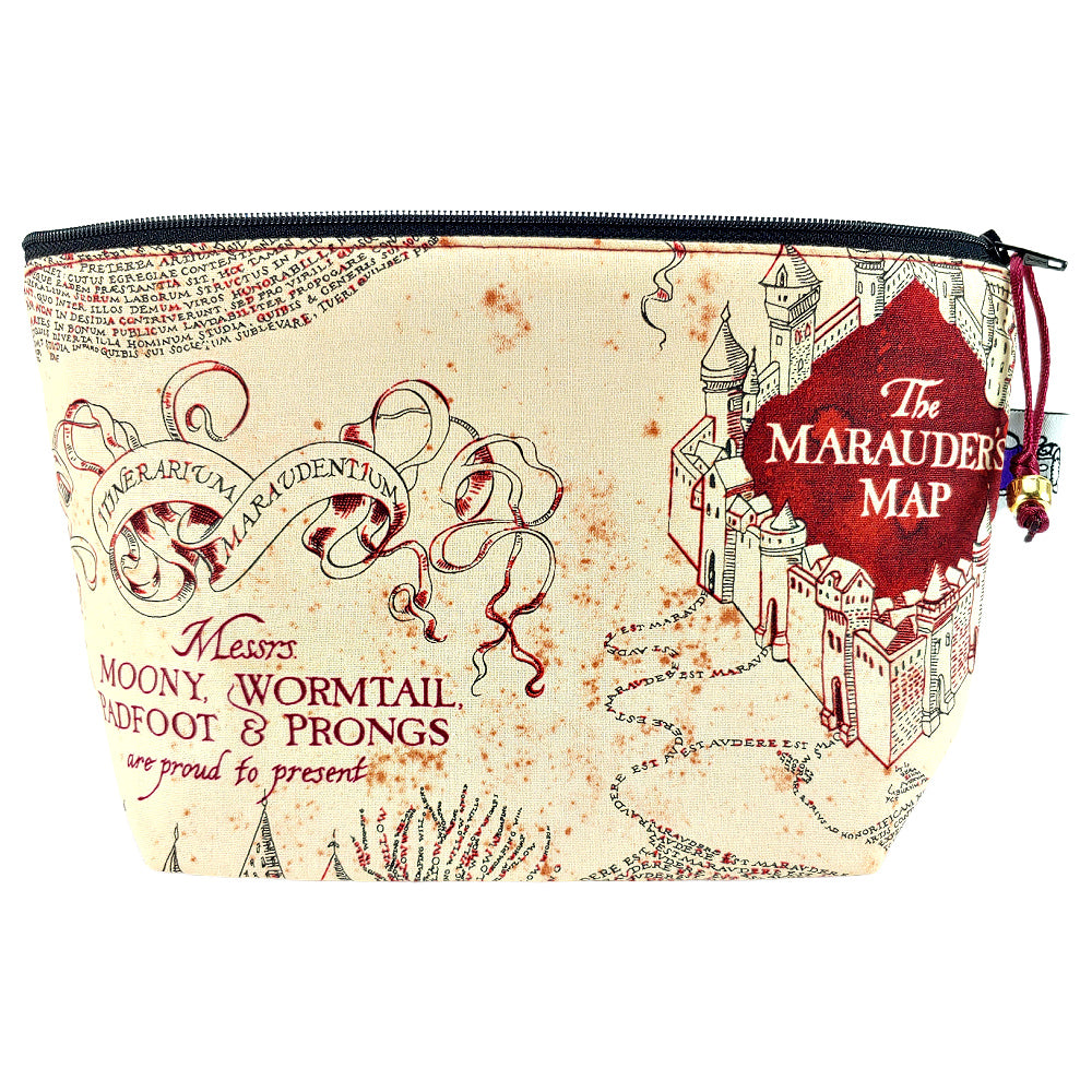 Marauder's Map </br> Zipper Notion Pouch