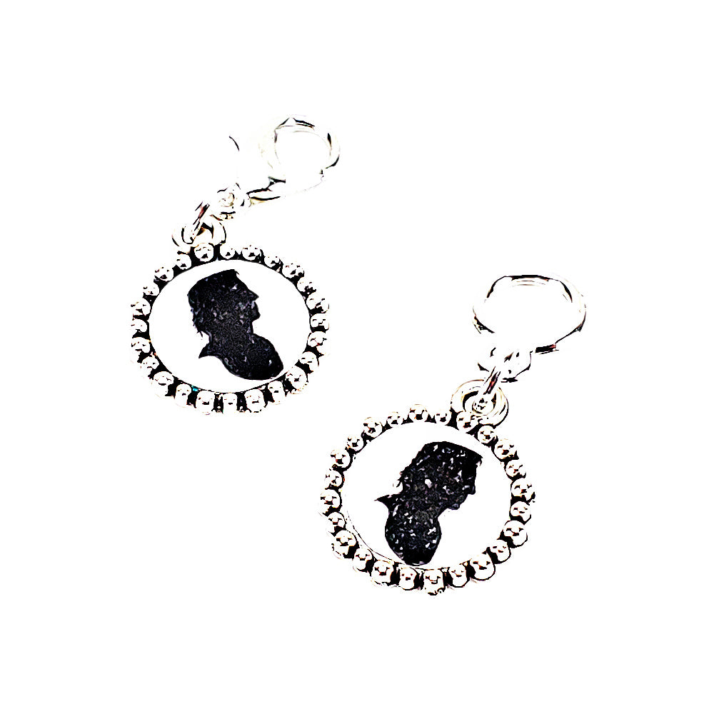 Snape Silhouette </br> Stitch Marker (Single)