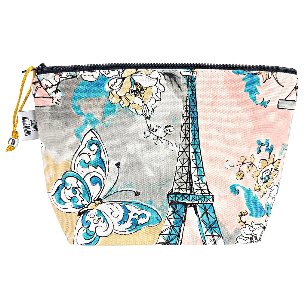 France in the Spring </br> Zipper Notion Pouch