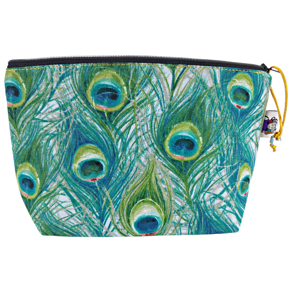 Peacock Plume </br> Zipper Notion Pouch
