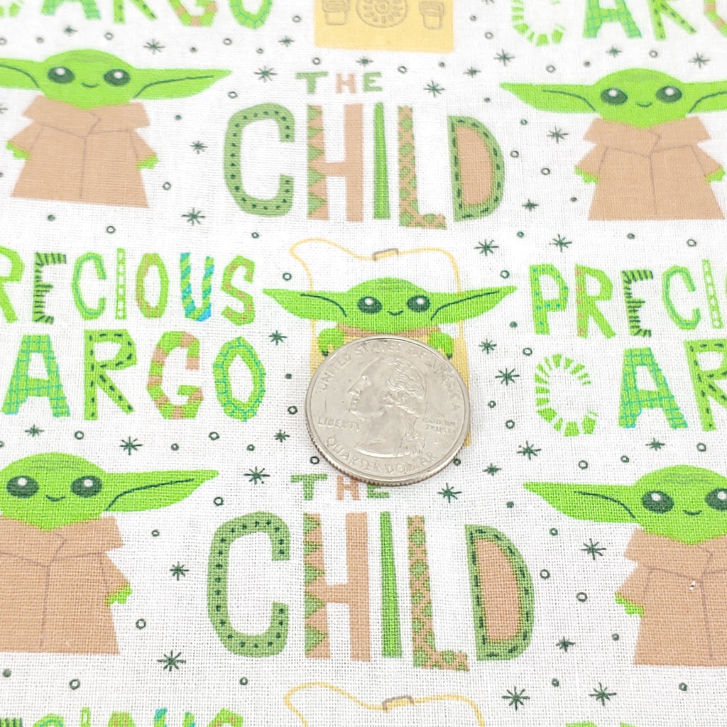 "Precious Cargo </br> Designer Fabric - By the Yard, or 32"" cut"