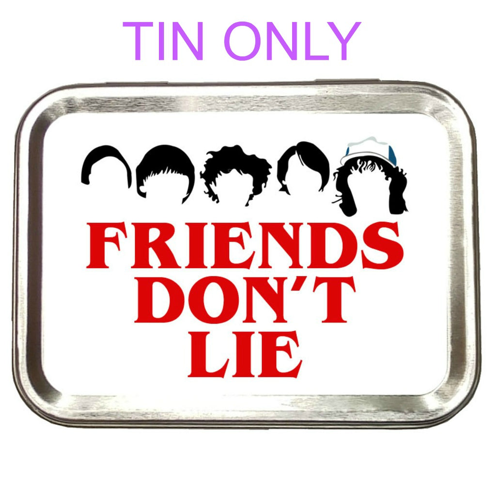Friends Don't Lie </br> Crafter's Tool Box (Empty):Tool Box,Slipped Stitch Studios:Slipped Stitch Studios