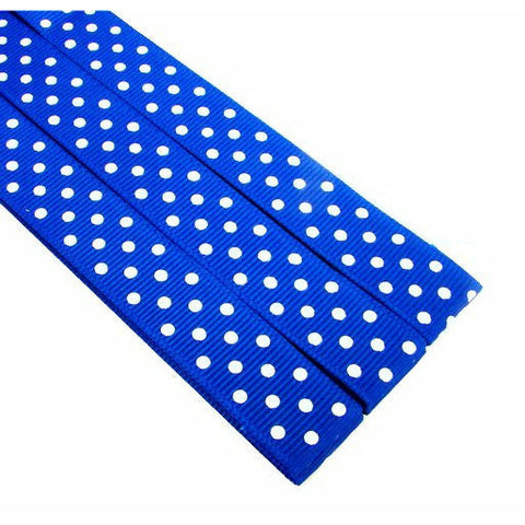 Magnetic Pattern & Chart Keeper - Polka Dots (Dark Blue)
