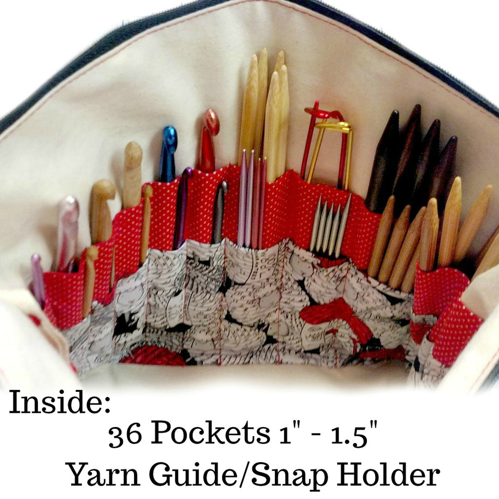 Holy S* Balls </br> Go Crafty Hybrid Sling:Hybrid Tool Case,Slipped Stitch Studios:Slipped Stitch Studios