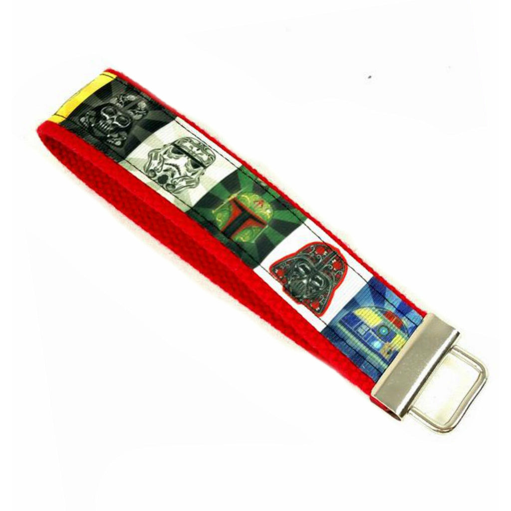 Star Wars Day of the Dead </br> Travel Lanyard:Travel Lanyard,Slipped Stitch Studios:Slipped Stitch Studios