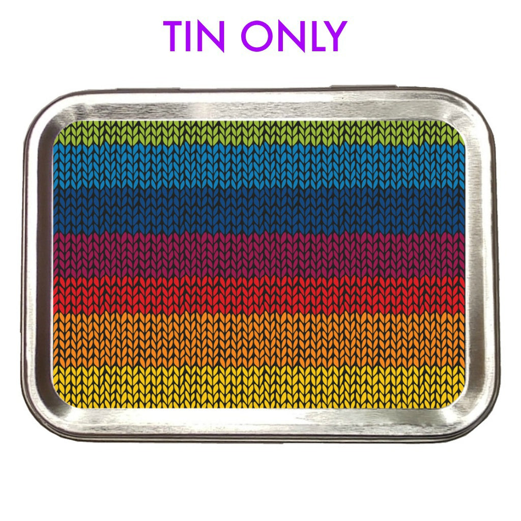 Rainbow Knit </br> Crafter's Tool box (Empty):Tool Box,Slipped Stitch Studios:Slipped Stitch Studios
