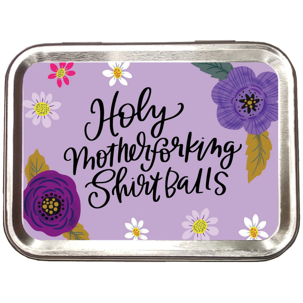 Holy Motherforking Shirt Balls </br> Crafter's Tool Box - (Empty):Tool Box,Slipped Stitch Studios:Slipped Stitch Studios