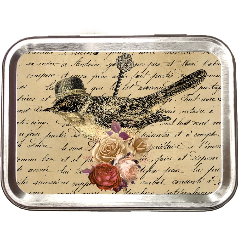 Song Bird </br> Crafter's Tool Box (Empty) </br> Pre Order:Tool Box,Slipped Stitch Studios:Slipped Stitch Studios
