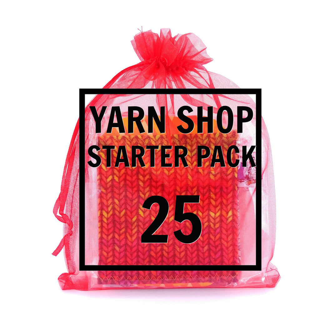 25 Yarn Socks Variety Pack - Wholesale:Yarn Sock,Slipped Stitch Studios:Slipped Stitch Studios