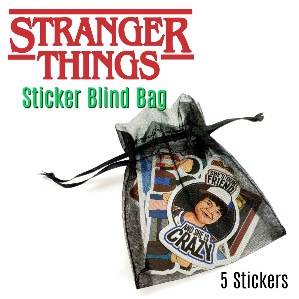 Stranger Things Sticker Blind Bag:Blind Bag,Slipped Stitch Studios:Slipped Stitch Studios