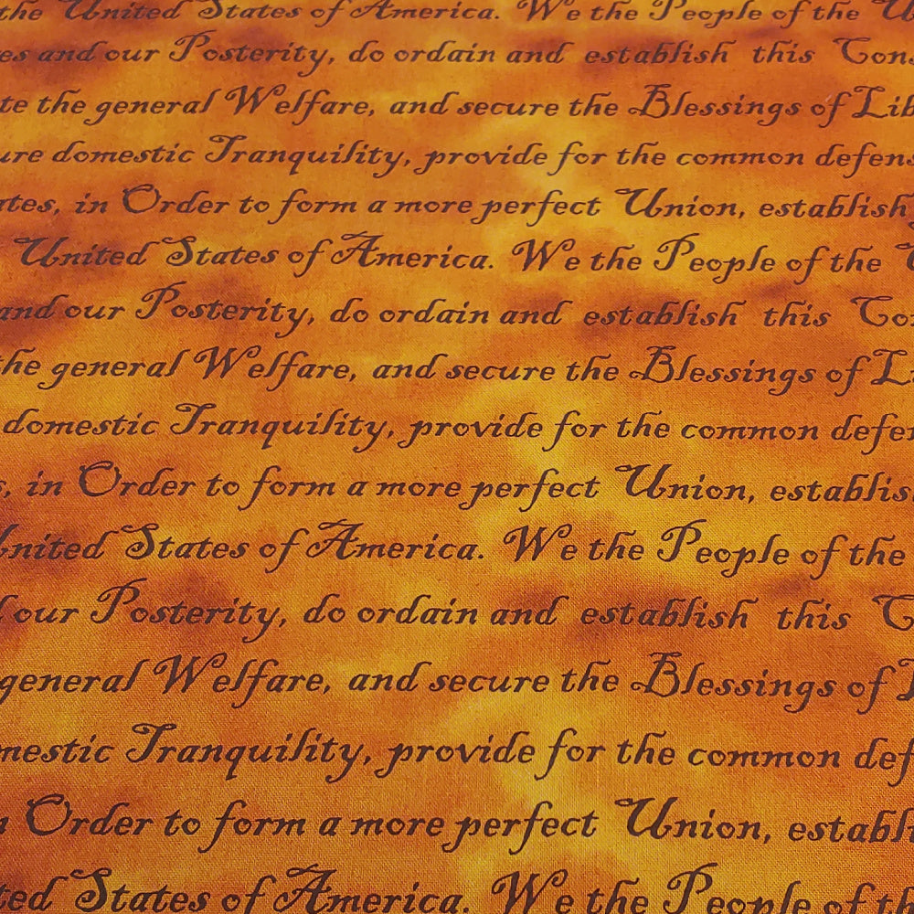 Constitution </br> Original Fabric (By the Yard)