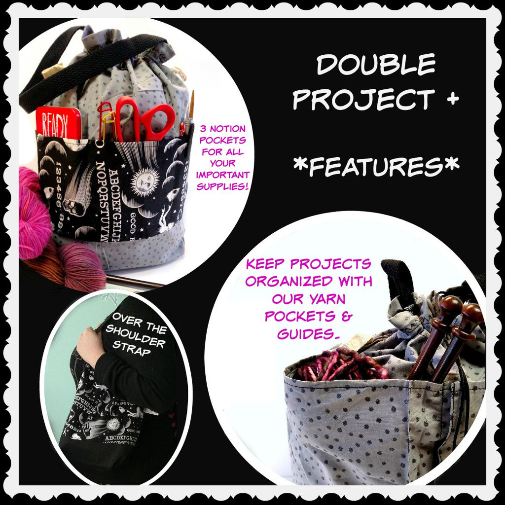 Double-Project Plus -:Template,Slipped Stitch Studios:Slipped Stitch Studios