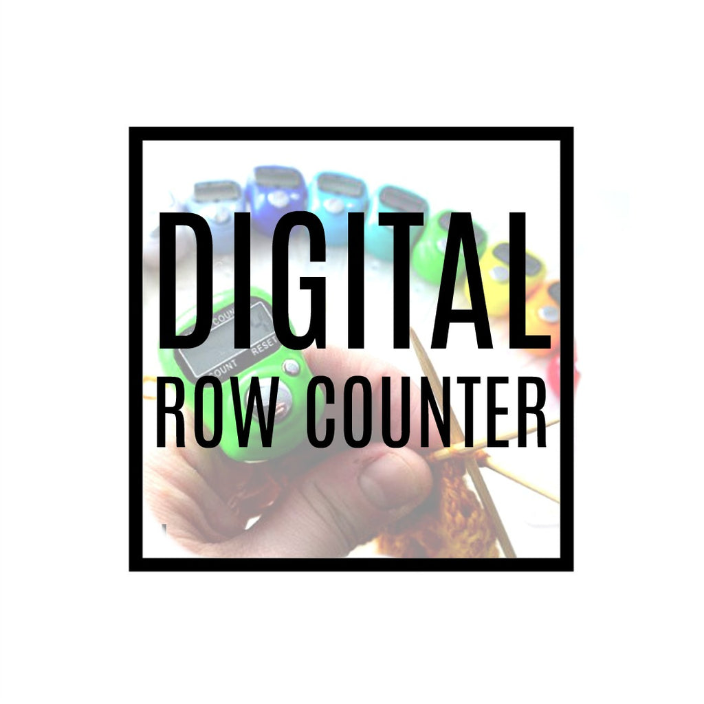 Digital Row Counter:Accessories,Slipped Stitch Studios:Slipped Stitch Studios