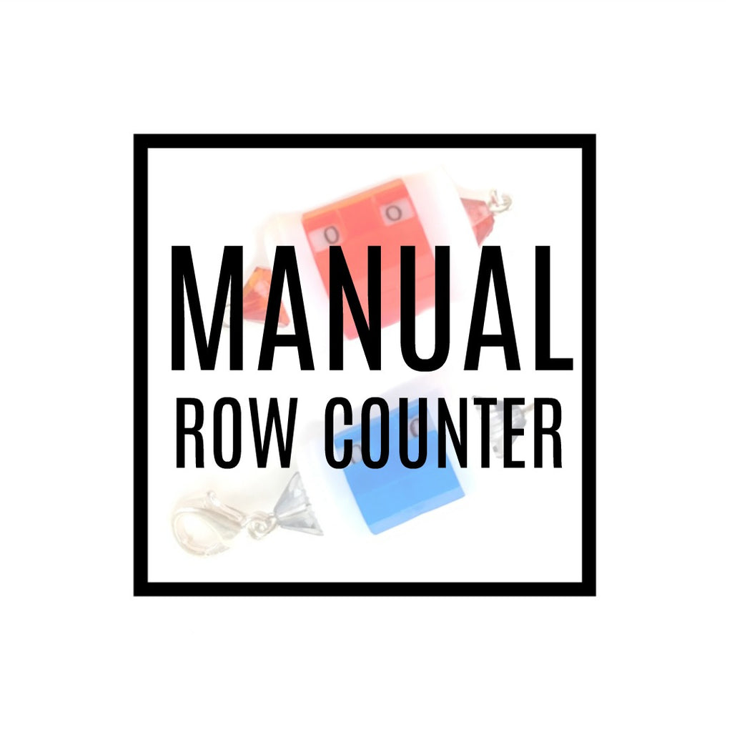 Manual Row Counter With Clasp:Accessories,Slipped Stitch Studios:Slipped Stitch Studios