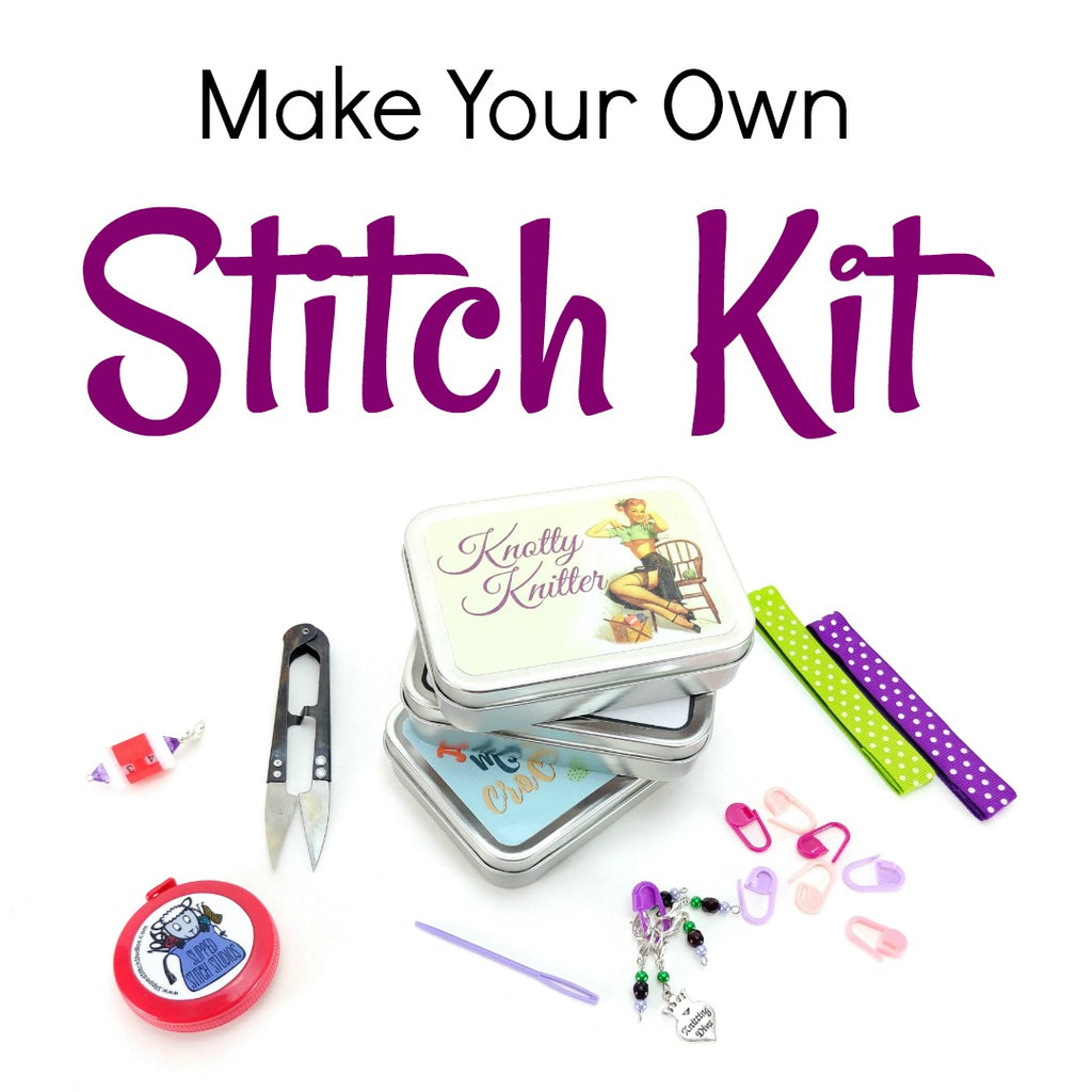 Make Your Own Stitch Kit - Accessories:Stitch Kits,Slipped Stitch Studios:Slipped Stitch Studios