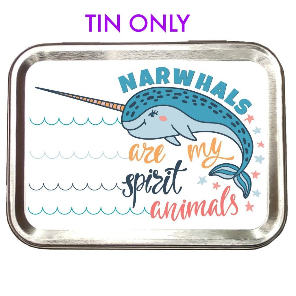 Narwhal </br> Crafter's Tool box (Empty):Tool Box,Slipped Stitch Studios:Slipped Stitch Studios