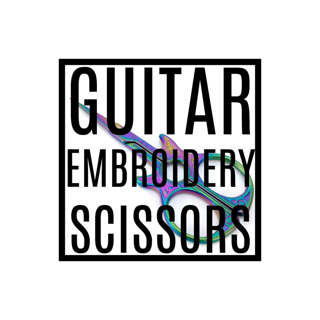 Guitar </br> Embroidery Scissors </br> Pre Order:Accessories,Slipped Stitch Studios:Slipped Stitch Studios