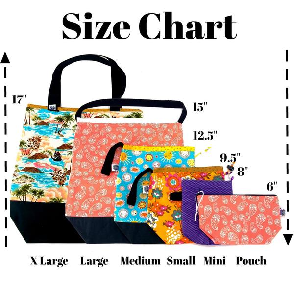 (NAME) </br> XL Project Bag </br> Studio Tote & Tot:,:Slipped Stitch Studios