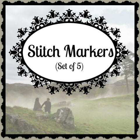 Stitch Markers - Happy Yarn