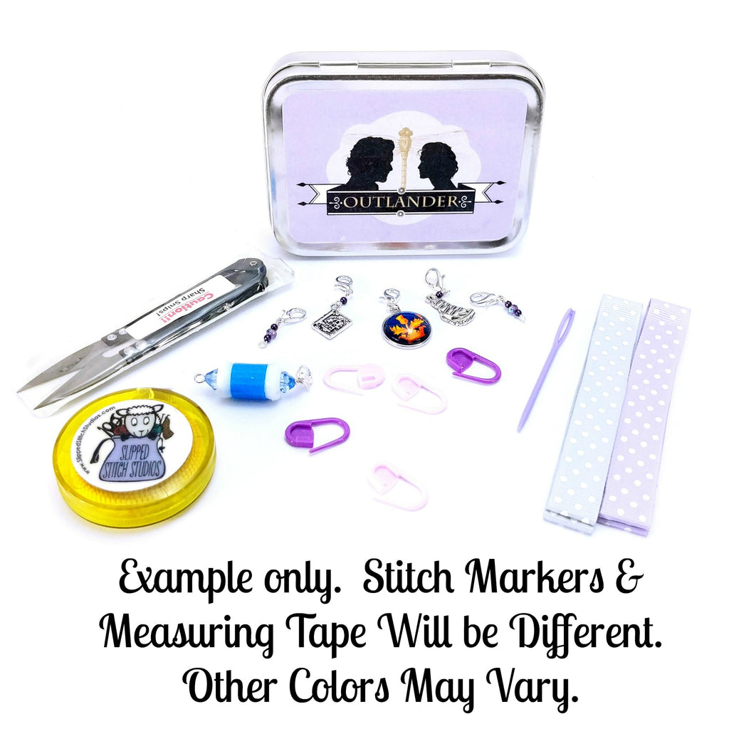 Jamie & Claire </br> Crafter's Tool Kit </br> Pre Order:Tool Box,Slipped Stitch Studios:Slipped Stitch Studios