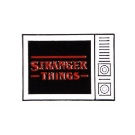 Stranger Things T.V. </br> Enamel Pin - Pre Order:Pins,Slipped Stitch Studios:Slipped Stitch Studios