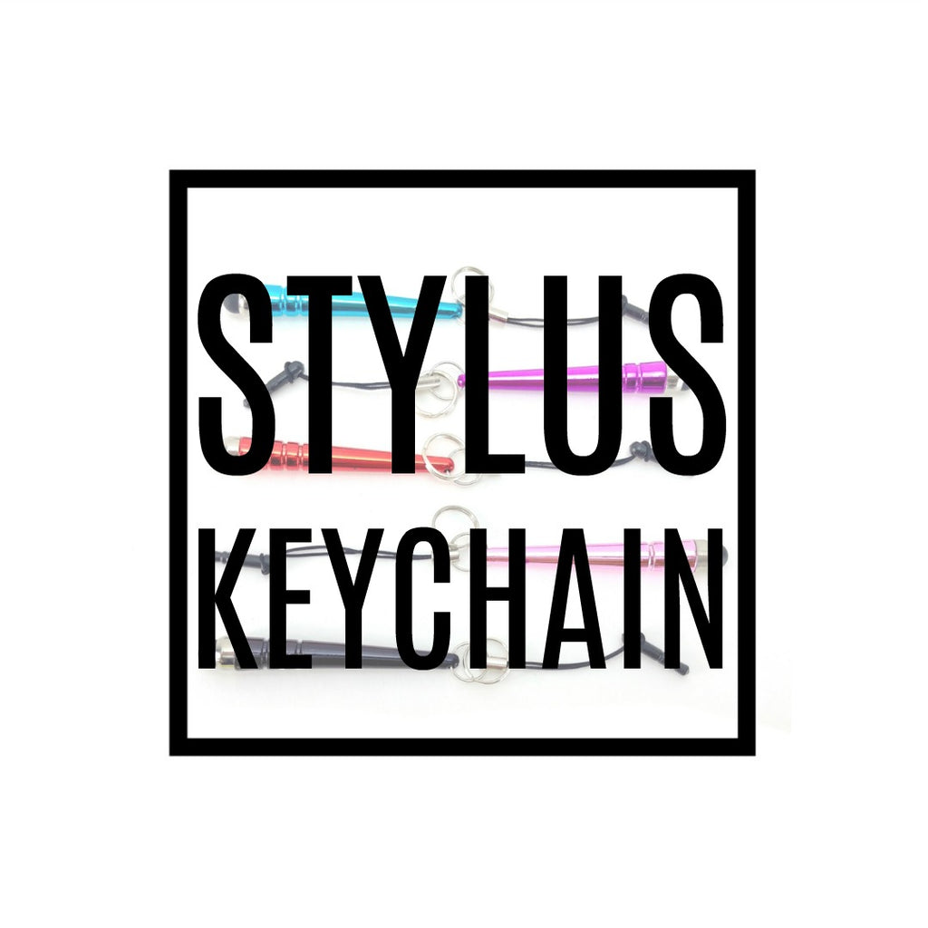 Stylus Key Chain:Accessories,Slipped Stitch Studios:Slipped Stitch Studios