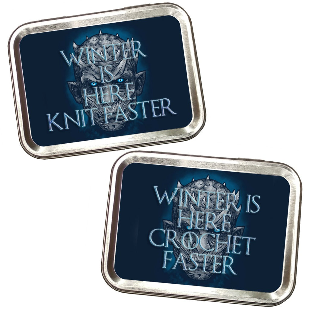 Winter is Here (Knit or Crochet) Faster </br> Crafter's Tool Kit </br> Pre Order:Tool Box,Slipped Stitch Studios:Slipped Stitch Studios