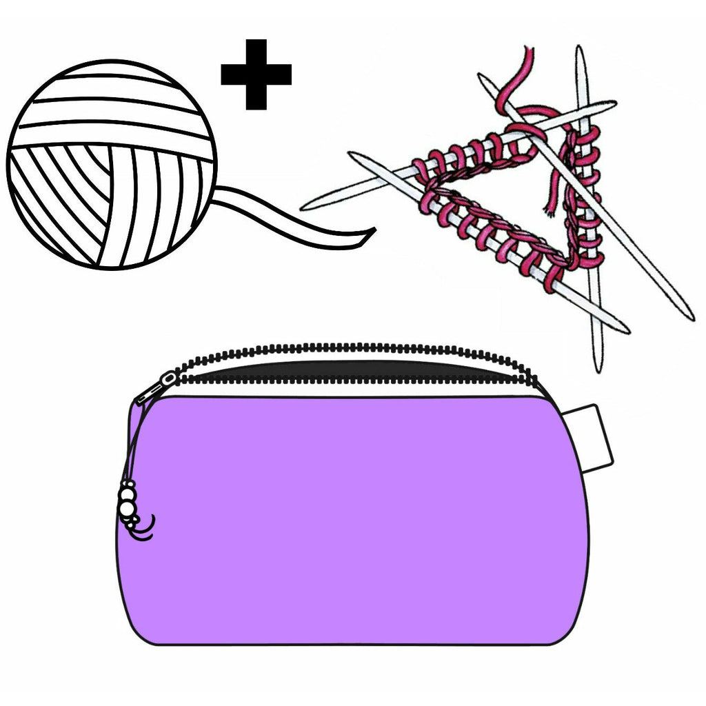Stitchy Witchy </br> Zipper Notion Pouch:Zipper Notion Pouch,Slipped Stitch Studios:Slipped Stitch Studios