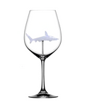 SHARK RED WINE GOBLET (handgefertigt)