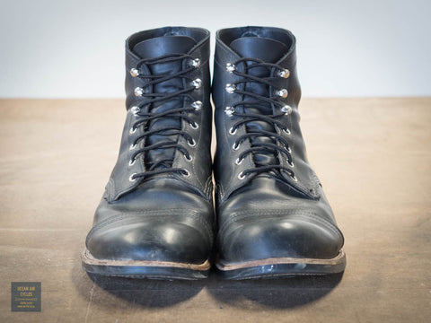 Red Wing Iron Ranger Black Harness 11.5 EE