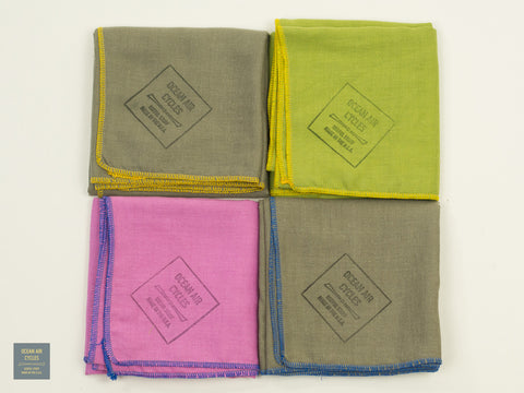 Double Weave 100% Cotton Neckerchief Solids