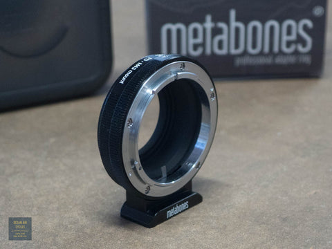 MetaBones Micro 4/3 to Canon FD adapter