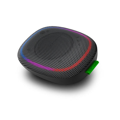 ENCEINTE BLUETOOTH PORTABLE 5W + LUMIERE AMBIANCE - MUSE - NOIR
