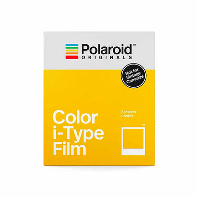 PAPIER PHOTO INSTANTANE POLAROID COULEURS POUR I-TYPE - TRANSPARENT