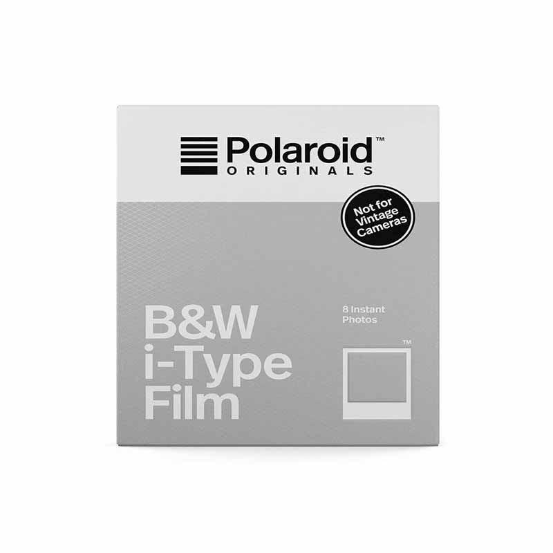 FILM STANDARD POLAROID I-TYPE ET NOW - TRANSPARENT