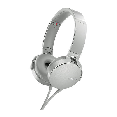 CASQUE SONY MDR-XB550AP EXTRA BASS - BLANC