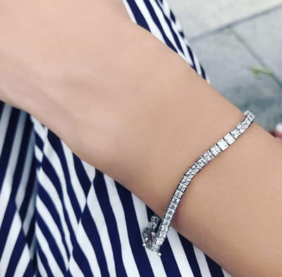 [PROMO BUNDLE] Hariette Princess Bracelet Diamond Set