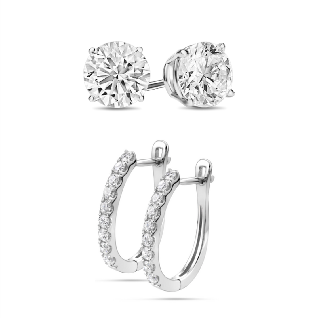 [PROMO SET] Sarlotte Giovanni Earrings Diamond Set
