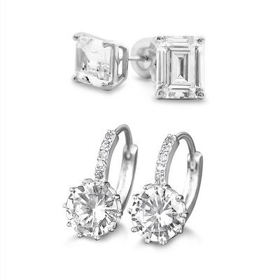 [PROMO SET] Quinn Hamilton Earrings Diamond Set