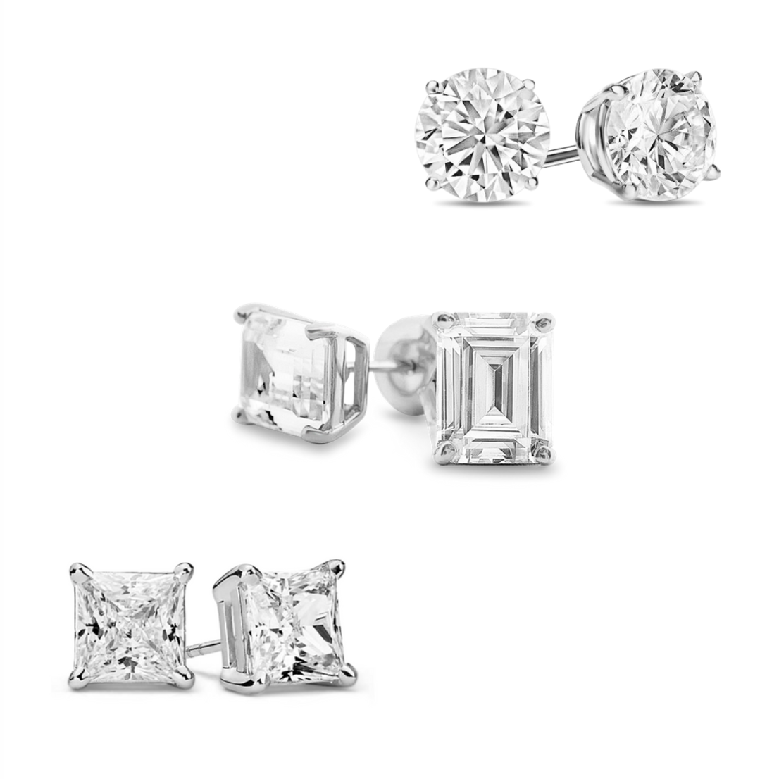 [PROMO SET] Giovanni Lilith Hamilton Diamond Earrings Set