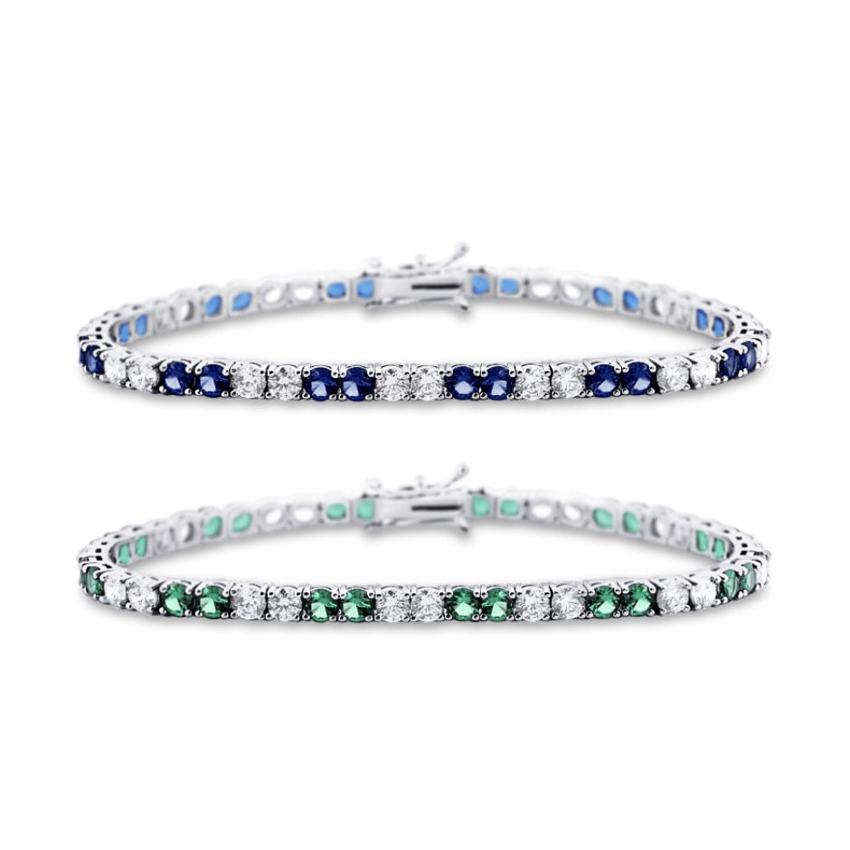 [PROMO BUNDLE] Estrelle Gemstone Bracelet Diamond Set